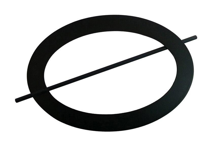 Alzapa os para cortinas oval forja negro ref 14572600 - Alzapanos para cortinas ...