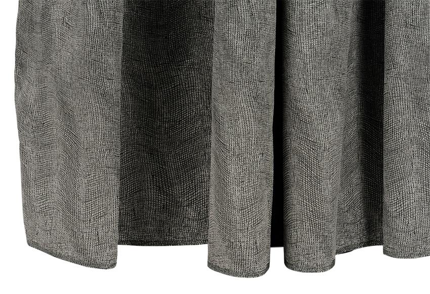 Cortina confeccionada garai plata ref 14715386 leroy merlin - Cortinas gris plata ...
