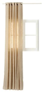 cortina confeccionada porto natura xl ref 15129261. Black Bedroom Furniture Sets. Home Design Ideas