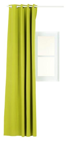 Cortina confeccionada blackout verde ref 15520694 leroy for Cortinas opacas leroy merlin