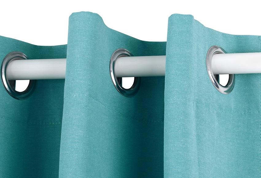Cortinas De Baño Color Turquesa:Cortina confeccionada Lea Turquesa Ref 16002546 – Leroy Merlin