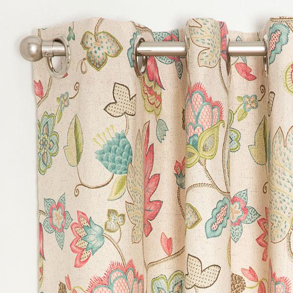 cortina con ollaos york rosa ref 15693132 leroy merlin