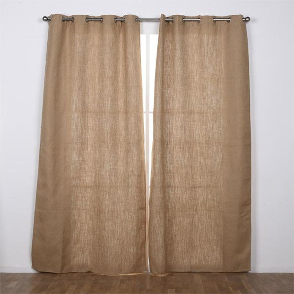 Cortinas de arpillera ideas modernas de cortinas - Cortinas de arpillera ...