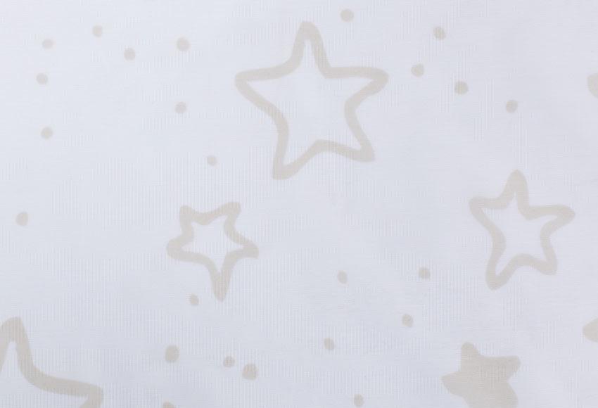 Visillo con ollaos Estrellas Beige Ref. 19383490   Leroy Merlin