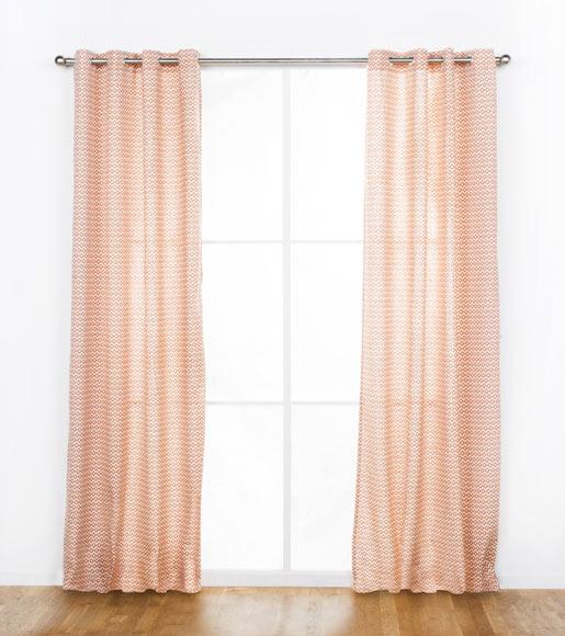 cortina con ollaos reims roja m decor ref 19409523 leroy merlin. Black Bedroom Furniture Sets. Home Design Ideas