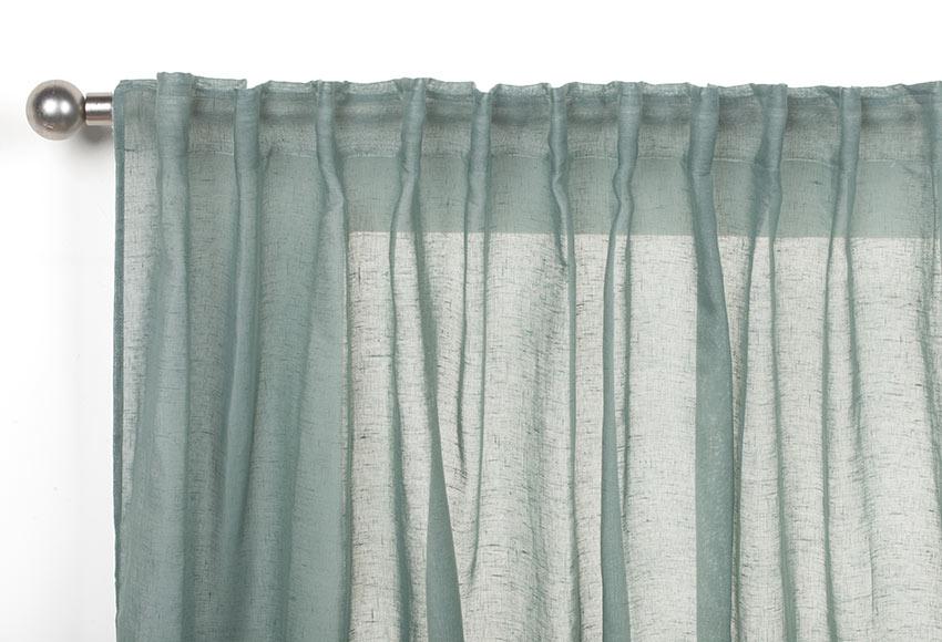 Visillos para puertas colocacin de visillos en ventana for Cortinas opacas blancas