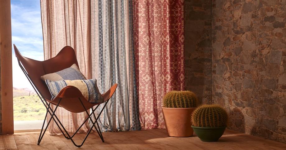 Cortinas rusticas dormitorio cortinas cruzadas cmo son - Visillos y cortinas ...