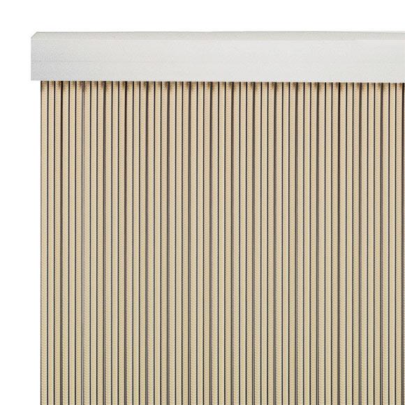 Cortina de puerta cintas marfil ref 12029745 leroy merlin - Barras para cortinas leroy merlin ...