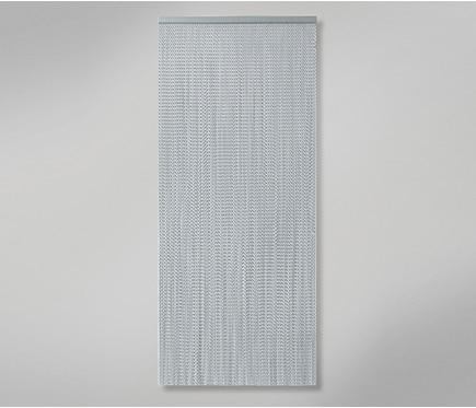Cortina de puerta cadena aluminio ref 12029773 leroy merlin - Cortinas para puertas de aluminio ...