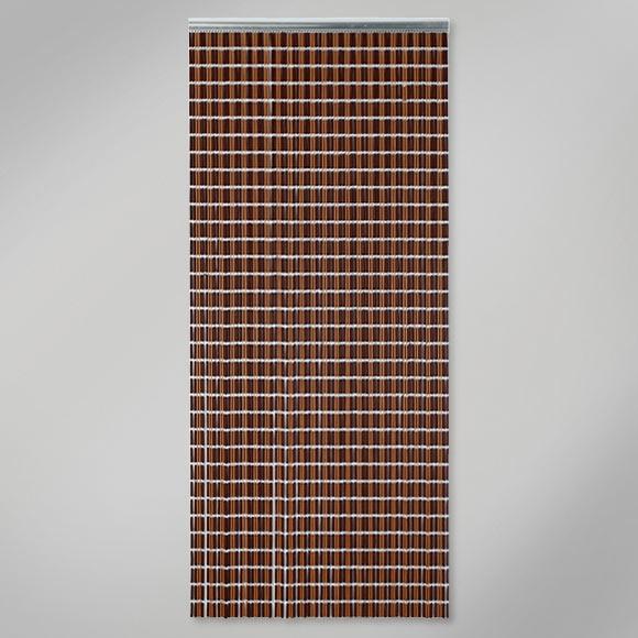 Cortina de puerta canutillo jaspe marron ref 12029822 - Cortinas y visillos leroy merlin ...
