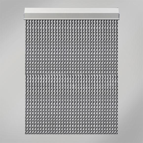 Cortina de puerta manacor plata ref 16134384 leroy merlin - Cortina puerta leroy merlin ...