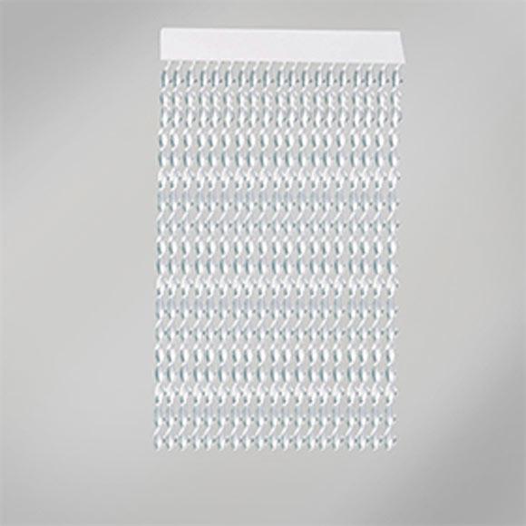 Cortina de puerta enna blanca transparente ref 19478333 for Cortinas decorativas para puertas