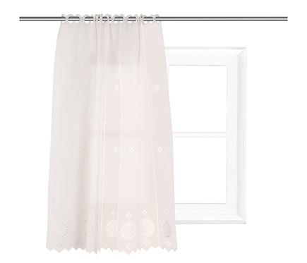 Visillo tendina 90x110 cm gij n beige ref 17554124 for Leroy merlin gijon