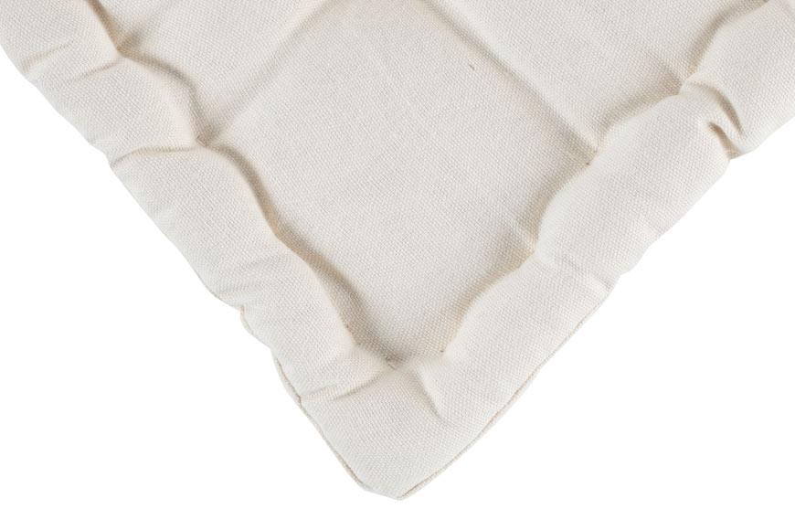 Coj n para suelo inspire clea beige ref 17943436 leroy - Cojin cuadrado suelo ...