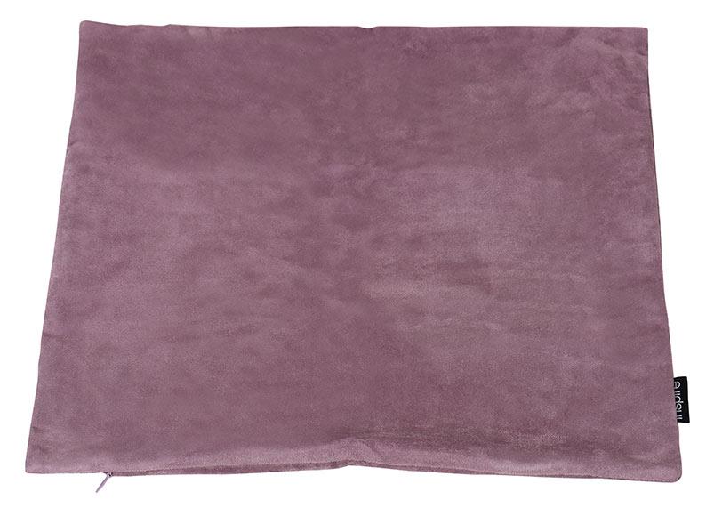 Funda de coj n suede rosa ref 18843713 leroy merlin - Fundas sofa leroy merlin ...