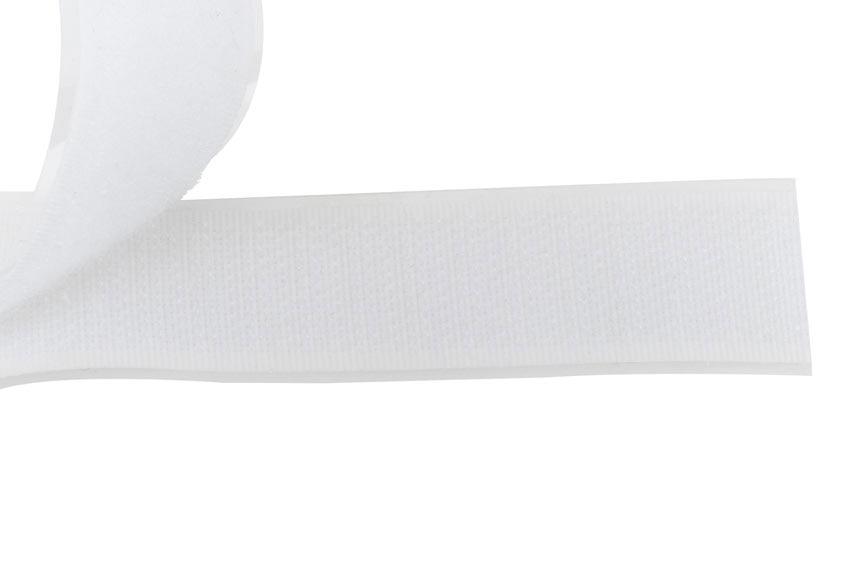 cinta velcro adhesiva 20mm blanco ml ref 10893981 leroy merlin. Black Bedroom Furniture Sets. Home Design Ideas