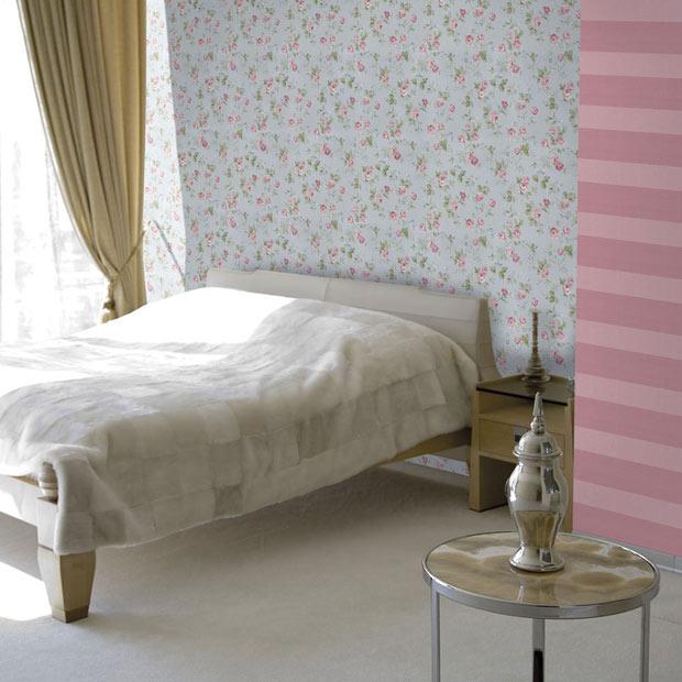 Todos los papeles pintados leroy merlin - Habitaciones con papel pintado y pintura ...