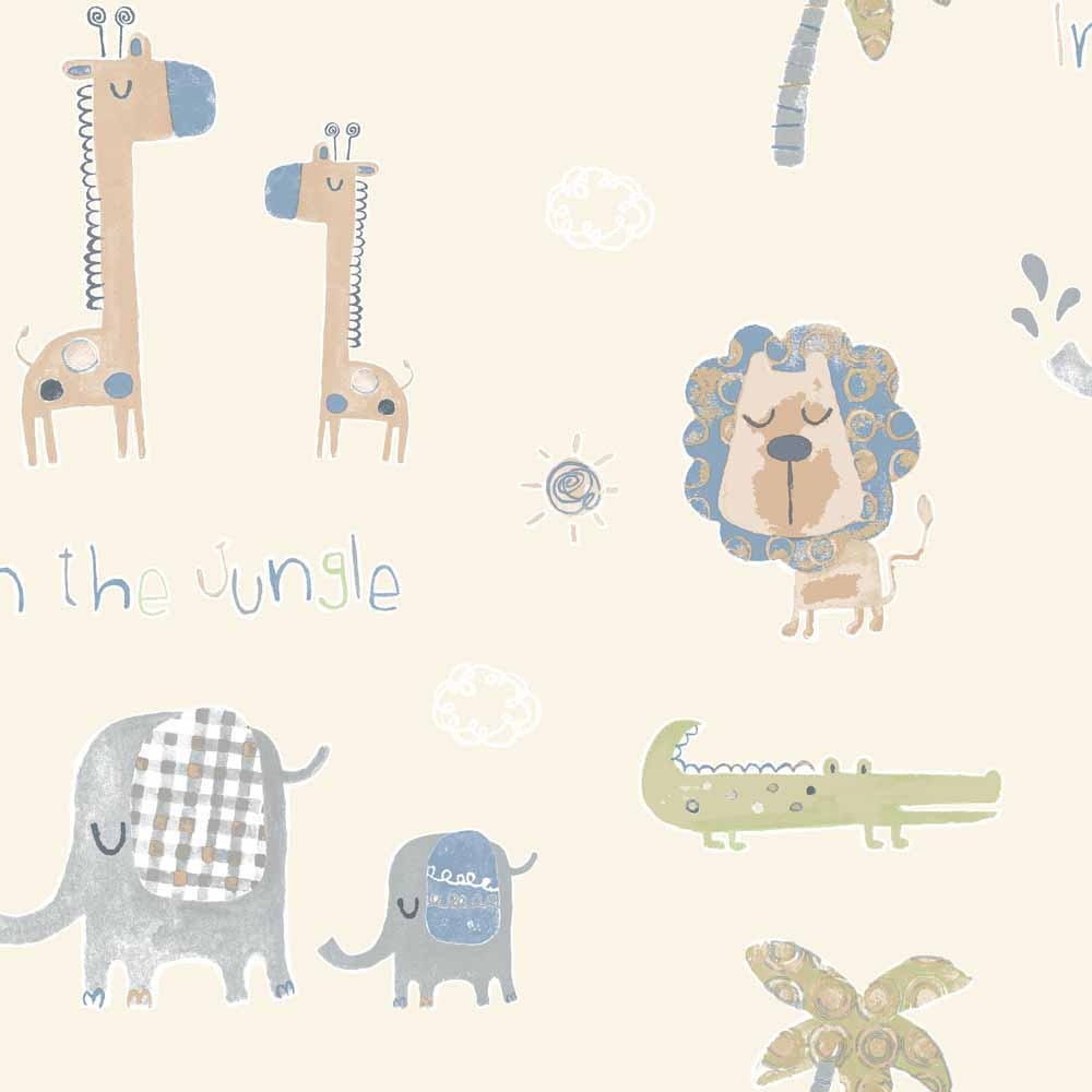 Infantil tiny tots jungle leroy merlin - Babyzimmer jungle ...