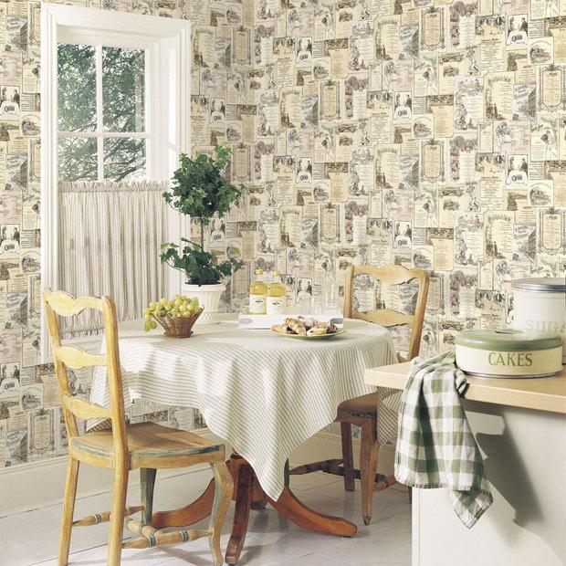 Papel pintado para ba os y cocinas leroy merlin for Papel vinilico para pared