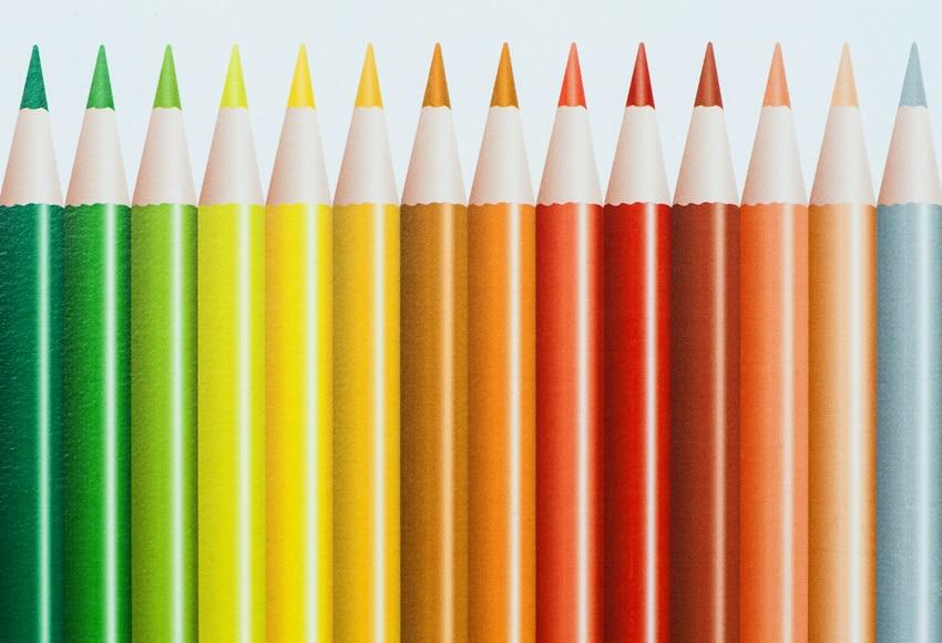 Cenefa infantil de papel lapices ref 17422041 leroy merlin - Cenefas de papel infantiles ...