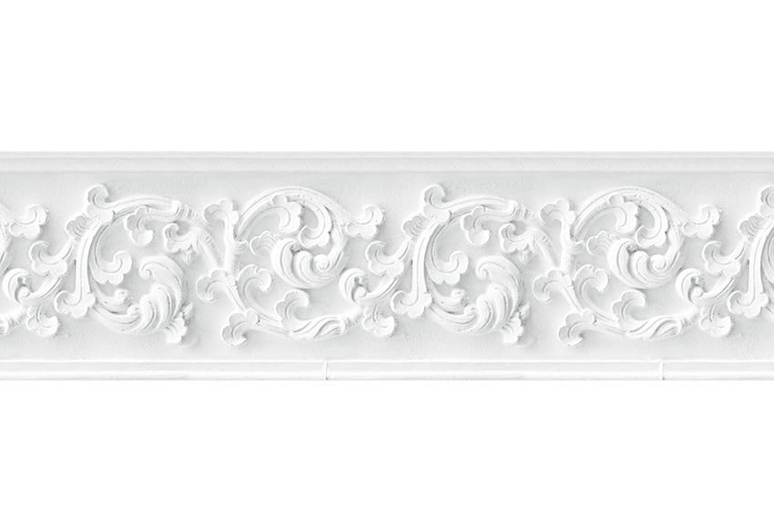 Cenefa de papel escayola blanca ref 17422342 leroy merlin - Cenefas de papel para paredes ...