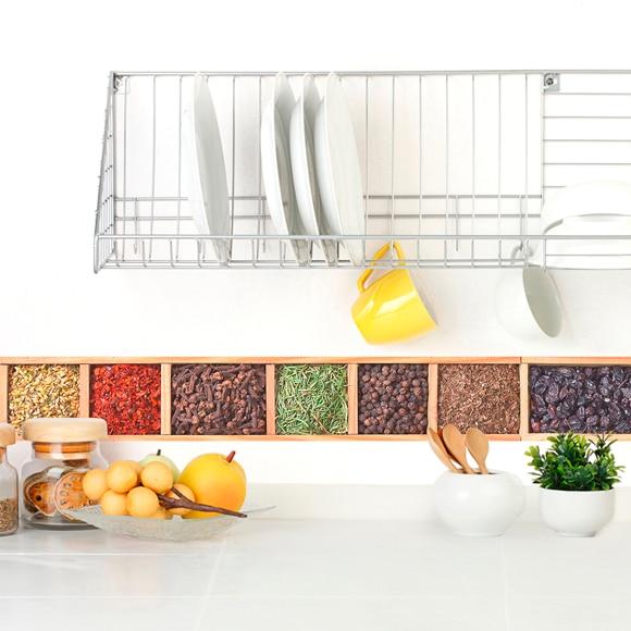 Cenefa de papel para cocinas especiero ref 19438426 for Cenefas para cocina
