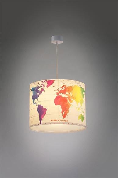 Lámpara Leroy Merlin Ref18082540 Mapas BsQxhCrtd