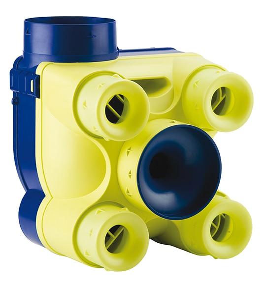Extractor De Baño Funcion:Ventilación mecánica controlada S&P VMC VENTURIA Ref 14392616