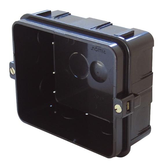 Caja de empotrar simon interruptores y enchufes ref - Interruptores y enchufes ...