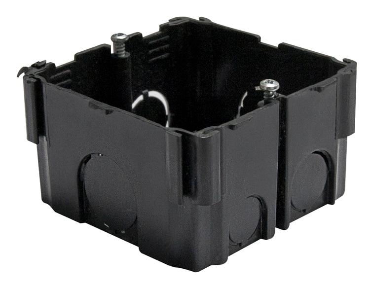 Pack de 10 cajas de empotrar imprex interruptores y for Cajas almacenaje leroy merlin