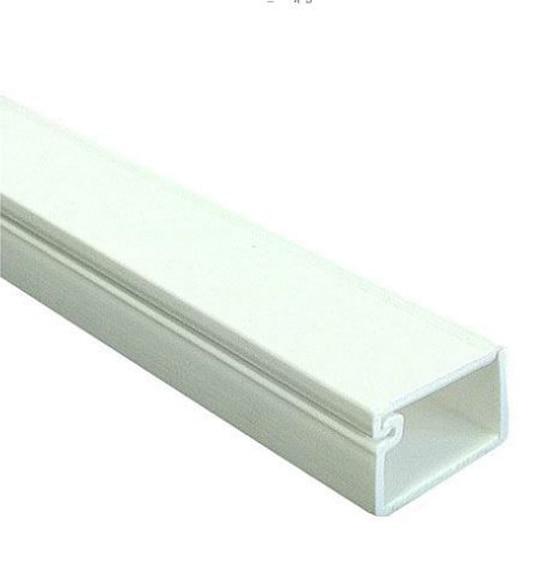 Canaleta hager blanco ref 12352312 leroy merlin - Regleta para cables ...