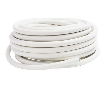 Lexman Cable Blanco H05VV F 3G1.5mm2