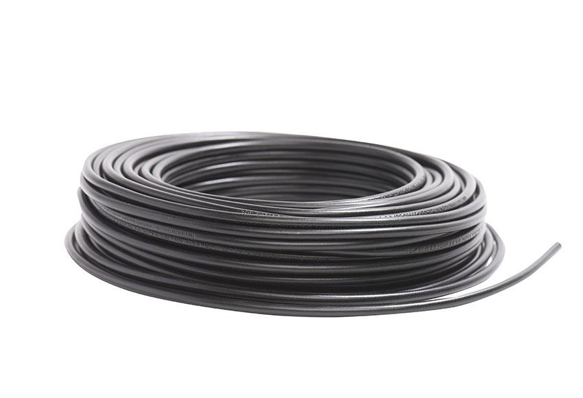 cable negro ref 17839304 leroy merlin. Black Bedroom Furniture Sets. Home Design Ideas