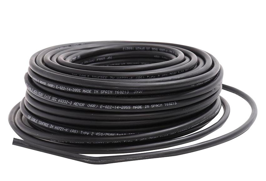 cable negro 15mm2 ref 18701095  leroy merlin