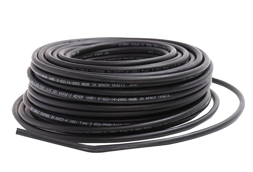 cable lexman negro 10mm2 ref 18367496 leroy merlin. Black Bedroom Furniture Sets. Home Design Ideas