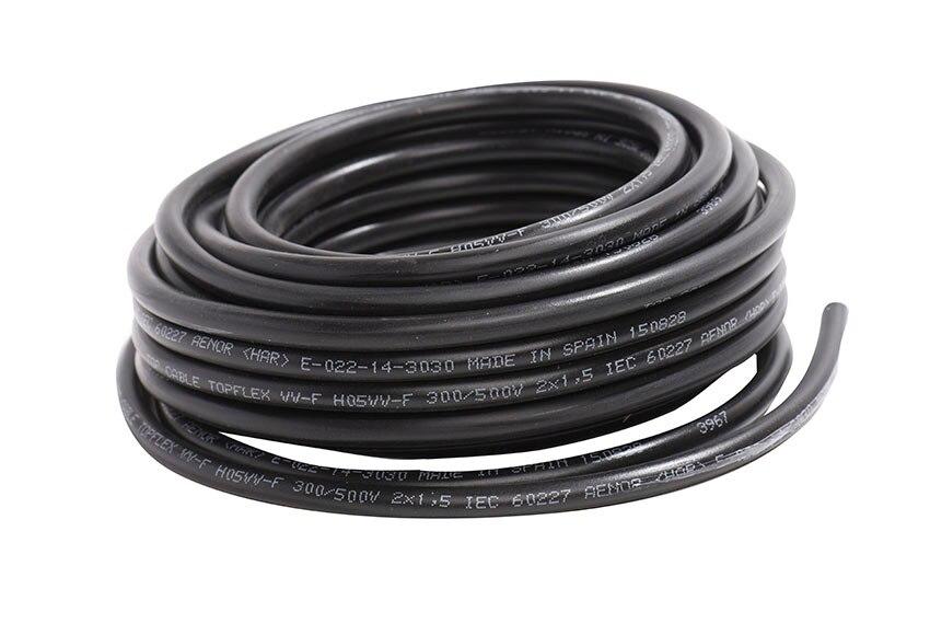 Negro h03vvh2 f leroy merlin - Cable electrico para exterior ...