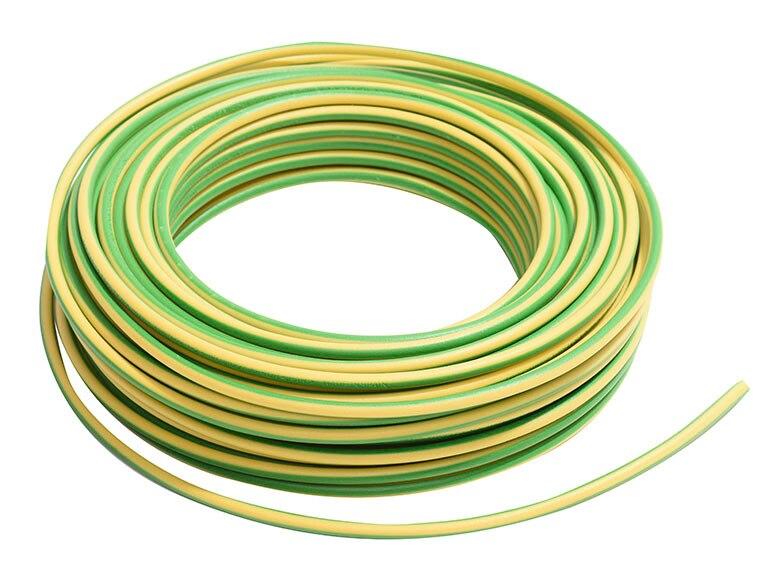 cable lexman verde y amarillo ref 17915324 leroy merlin. Black Bedroom Furniture Sets. Home Design Ideas