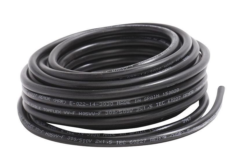 33f8691012b Negro H07RNF 2G1.5mm2 LEXMAN · Manguera de cable ...