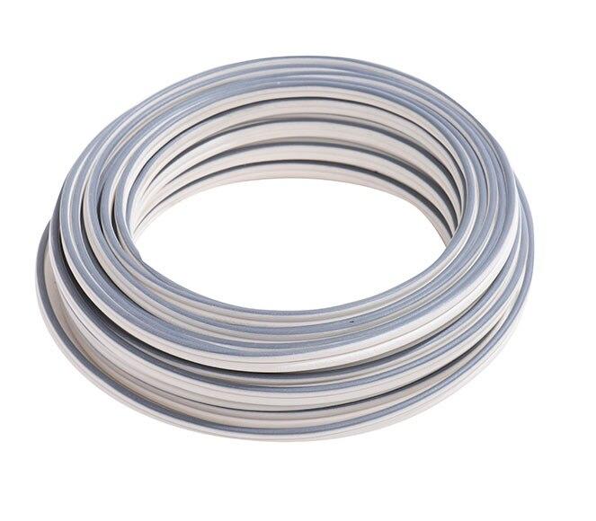 Cable de altavoces hi fi lexman 2x1 5 blanco gris 10m ref - Cable de altavoces ...