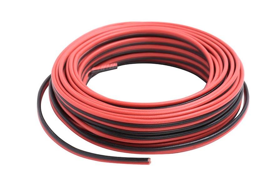 cable de altavoces hi fi lexman 2x1 5 negro rojo 20m ref 17914960 leroy merlin. Black Bedroom Furniture Sets. Home Design Ideas