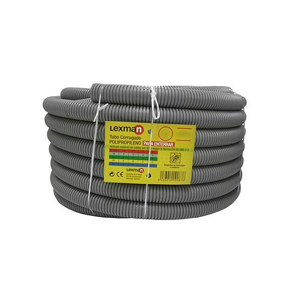 Tubo polipropileno lexman tubo corrugado polip 25 ref for Tubo irrigazione leroy merlin