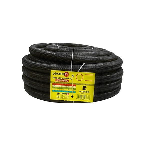 Tubo corrugado pvc lexman tubo corrugado reforzado 25 ref for Tubo irrigazione leroy merlin