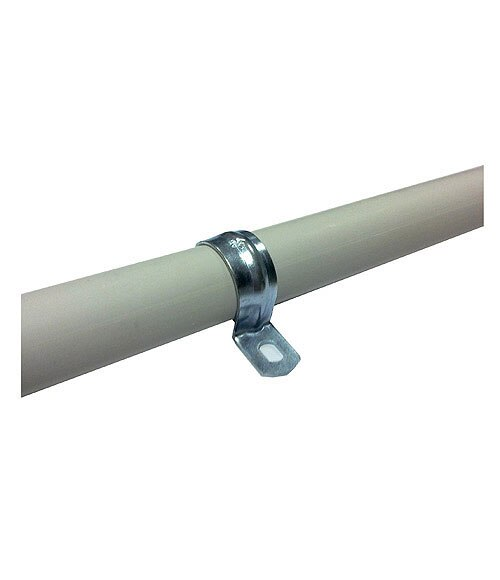 Artesanato Em Tiradentes ~ Grapa metálica Lexman Grama metálica tubo rígido Ref 14761320 Leroy Merlin