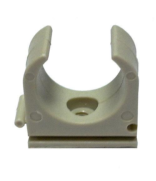 Grapa clip lexman grama met lica tubo r gido gris ref - Abrazaderas para tubos ...