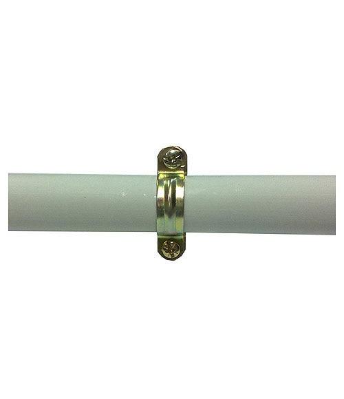Abrazadera met lica lexman grapa abrazadera tubo r gido for Tubo irrigazione leroy merlin