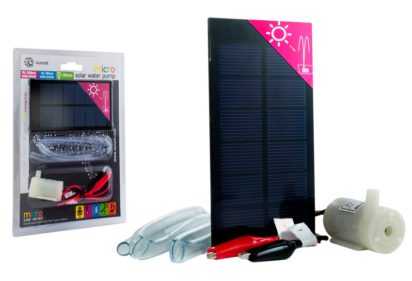 kit micro bomba de agua solar xunzel microsolar ref 17103324 leroy merlin. Black Bedroom Furniture Sets. Home Design Ideas