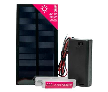 Kit cargador bater as 2aa xunzel microsolar ref 17602872 for Laminas proteccion solar leroy merlin