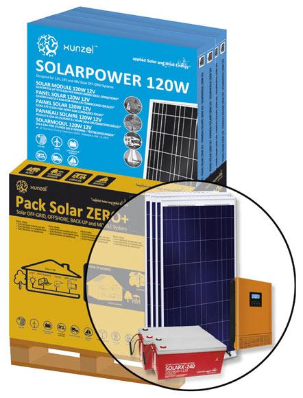 Kit de iluminaci n solar xunzel solar zero ref 17102183 - Kit solar leroy merlin ...