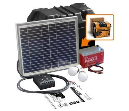 Kit de iluminaci n solar xunzel solarlife ref 16985934 - Kit solar leroy merlin ...