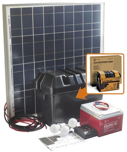 Kit de iluminaci n solar xunzel solarlife ref 16985962 - Kit solar leroy merlin ...